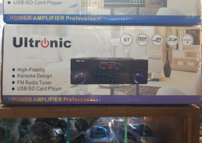Ultronic Power Amplifier Professional