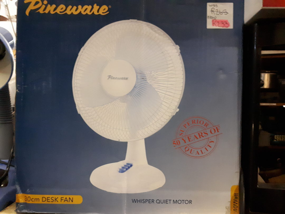 Pineware Table Fan